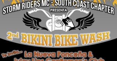 2do. Storm Riders MC Bikini Bike Wash