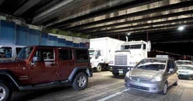 Tres accidentes de tránsito provocan congestión vehicular en el túnel Minillas