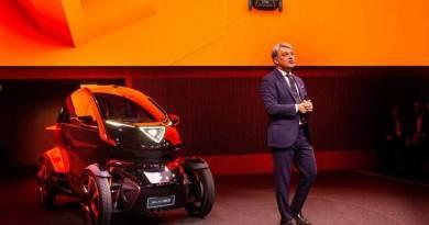 Presentan Minimó, el miniauto inspirado en una moto