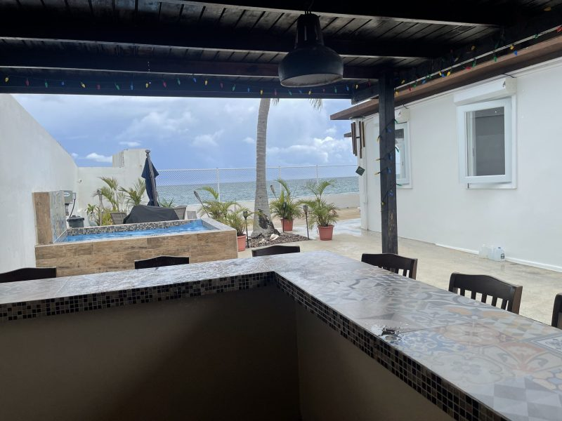 Bar looking to Ocean