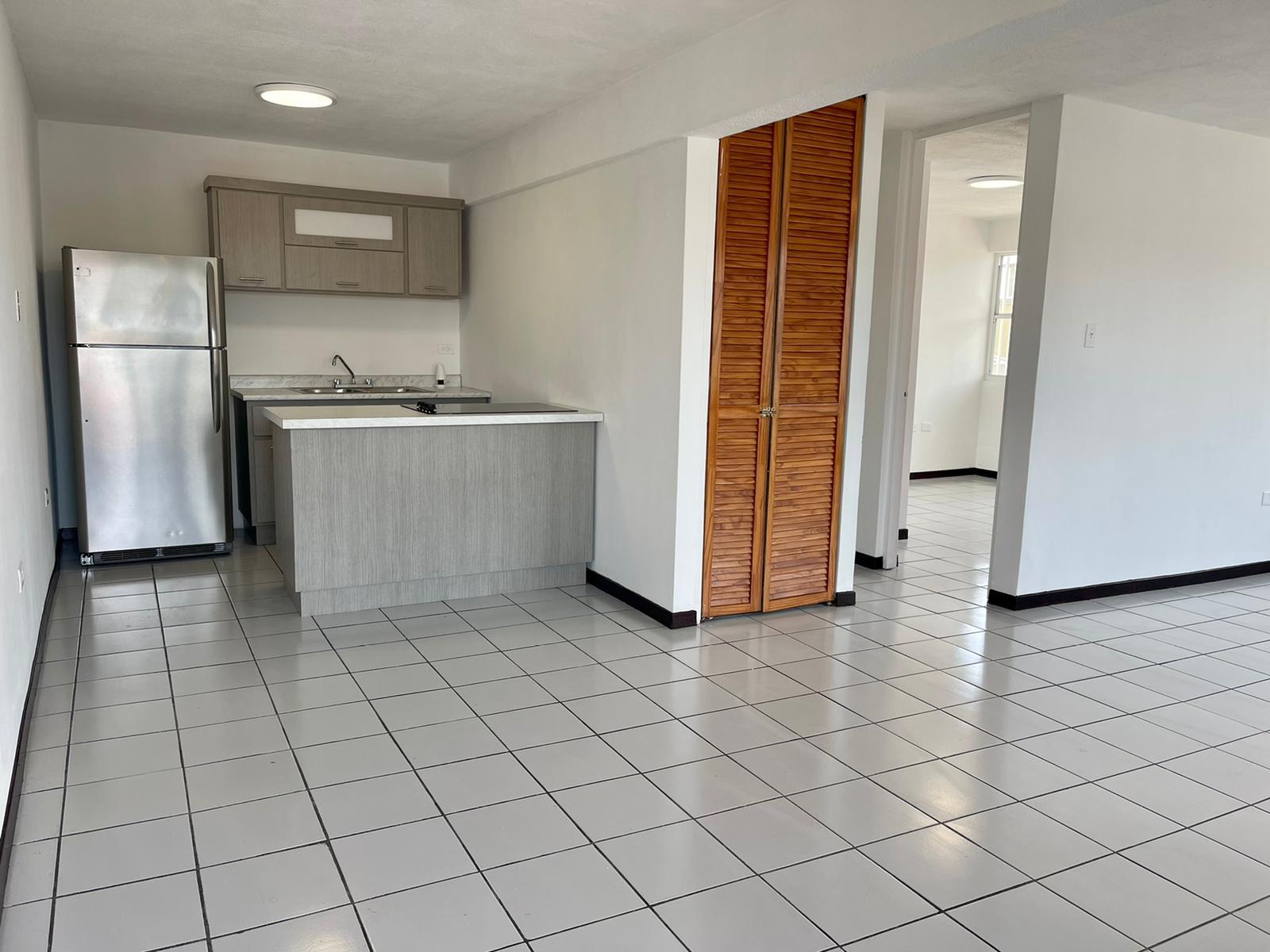 Kitchen from the front door.
