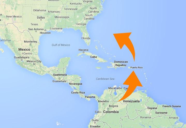 The US Coast Guard In Puerto Rico Puerto Rico Report - Us coast guard maps