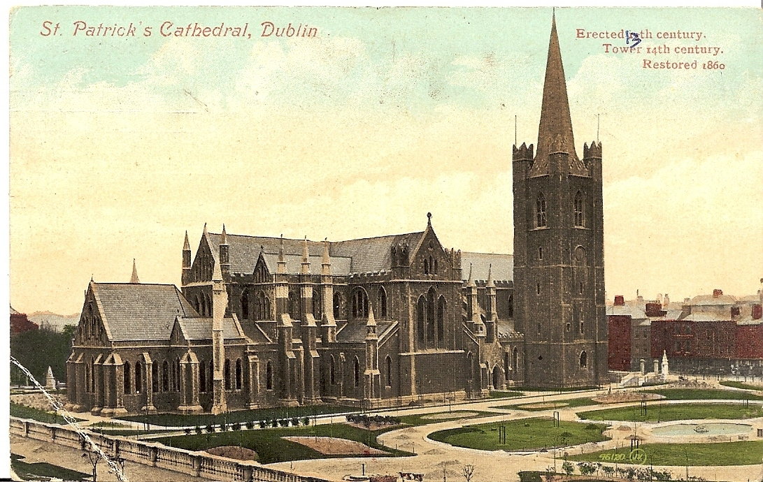 St Patrick's Cathedral Postcard