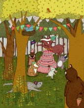 woodland birthday_etsy