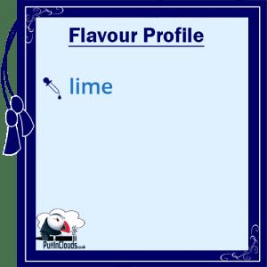 Cuttwood Livid Lime E-Liquid - Flavour Profile