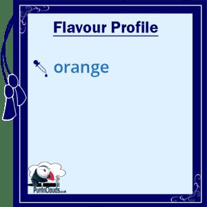 Cuttwood Outage Orange E-Liquid - Flavour Profile