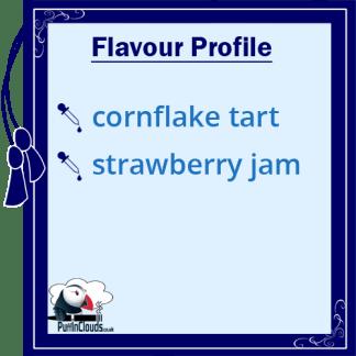 Dinner Lady Cornflake Tart eLiquid - Flavour Profile