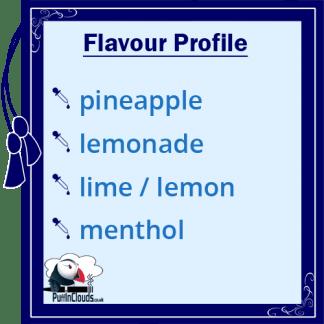 Nasty Juice Slow Blow E-Liquid (Low Mint) Flavour Profile