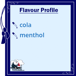 I Love VG Cola Ice E-Liquid - Flavour Profile | Puffin Clouds UK