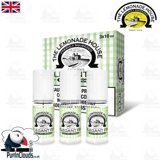 Lemonade House Elegant Fix - Mixed Fruit Lemonade E-Liquid | Puffin Clouds UK