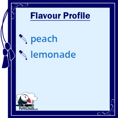 Lemonade House Summer - Peach Lemonade E-Liquid - Flavour Profile | Puffin Clouds UK
