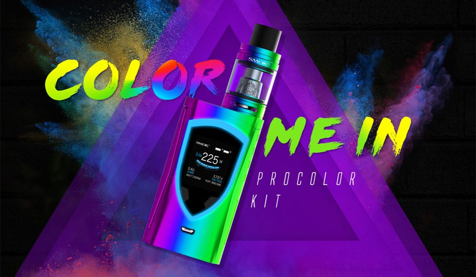 SMOK ProColor Kit - Features | Puffin Clouds UK