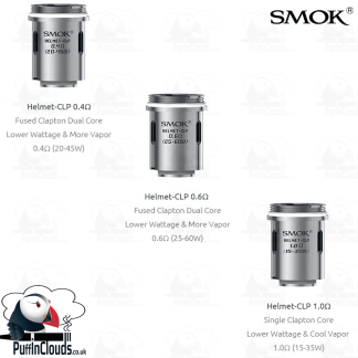 SMOK Helmet Coils (5 Pack) | Puffin Clouds UK