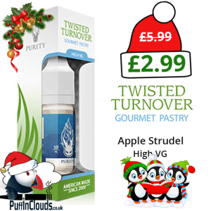 Purity Twisted Turnover High VG E-Liquid 0mg (10ml Single Bottle)