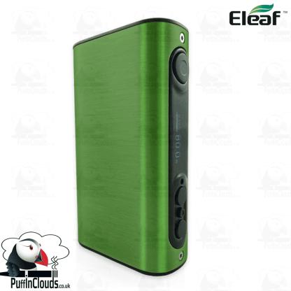 Eleaf iStick Power 80W Mod - Brushed Green   Puffin Clouds UK