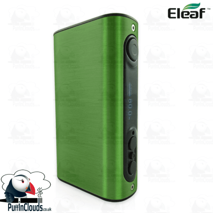 Eleaf iStick Power 80W Mod - Brushed Green | Puffin Clouds UK