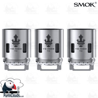 SMOK V12 Prince T10 Coils (3 Pack) | Puffin Clouds UK
