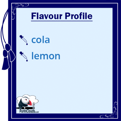 Ohm Brew Fizzy Cola Nic Salt E-Liquid Flavour Profile | Puffin Clouds UK