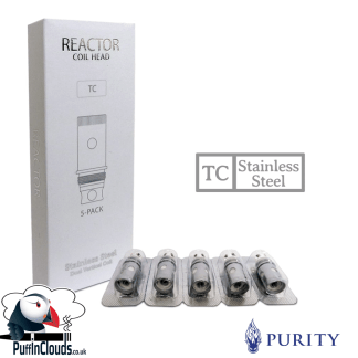 Purity Reactor Coils (5 Pack) | Puffin Clouds UK