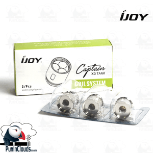 iJoy X3 Coils (3 Pack) | Puffin Clouds UK