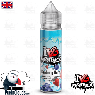 IVG Blueberg Burst Short Fill E-Liquid 50ml | Puffin Clouds UK