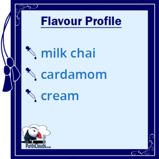 IVG Cardamom Chai Latte Short Fill E-Liquid 50ml Flavour Profile | Puffin Clouds UK