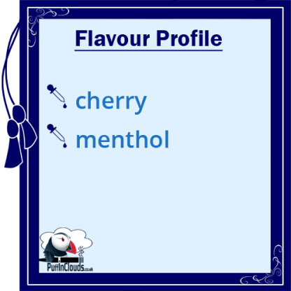 IVG Cherry Wave Short Fill E-Liquid 50ml Flavour Profile | Puffin Clouds UK