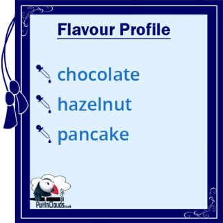 IVG Choco Haze Pancake Short Fill E-Liquid 50ml Flavour Profile | Puffin Clouds UK