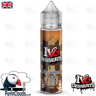 IVG Choco Haze Pancake Short Fill E-Liquid 50ml | Puffin Clouds UK