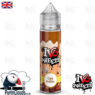 IVG Cola Bottles Short Fill E-Liquid 50ml | Puffin Clouds UK