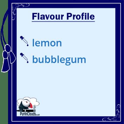 IVG Lemon Millions Short Fill E-Liquid 50ml Flavour Profile   Puffin Clouds UK