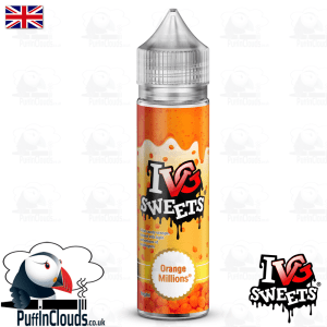 IVG Orange Millions Short Fill E-Liquid 50ml | Puffin Clouds UK