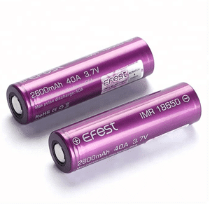 18650 Vaping Batteries