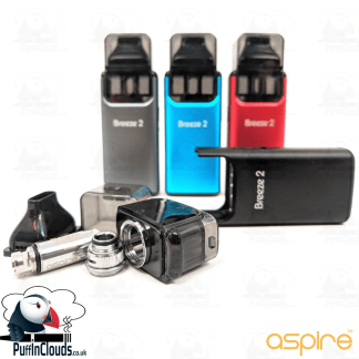 Aspire Breeze 2 Pod Starter Kit | Puffin Clouds UK
