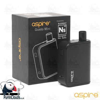 Aspire Gusto Mini Starter Kit | Puffin Clouds UK