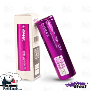 Efest IMR 20700 Vaping Battery | Puffin Clouds UK