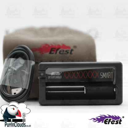 Efest Xsmart Vaping Battery Charger (USB)   Puffin Clouds UK