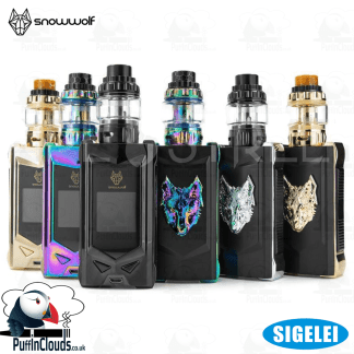 Sigelei SnowWolf Mfeng Kit (UK Edition) | Puffin Clouds UK