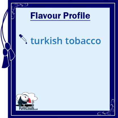 Royal Seven Turkish Blend Tobacco Shake n Vape E-Liquid (50ml 0mg) | Puffin Clouds UK