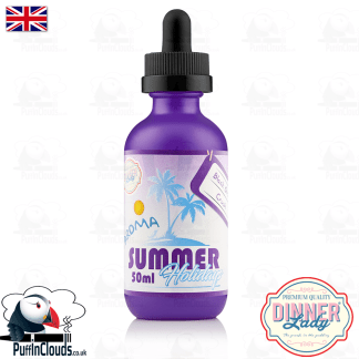 Dinner Lady Black Orange Crush E-Liquid (50ml 0mg) | Puffin Clouds UK