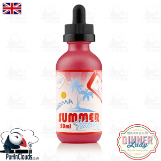 Dinner Lady Strawberry Bikini E-Liquid (50ml 0mg) | Puffin Clouds UK