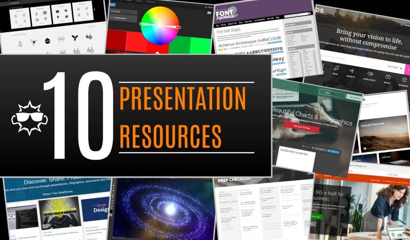 10 Presentation Tools & Online Resources for Your Next Presentation Design