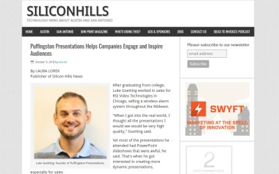 Puffingston Featured in Silicon Hills News Magazine