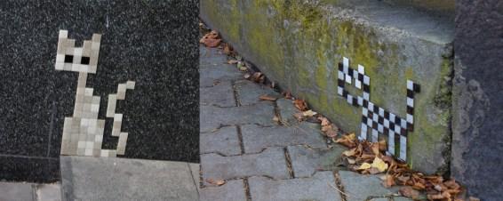 Poznań ma koziołki na wieży, Wrocław krasnale wszędzie, a Liberec ma koteły ceramiczne i pikselowe. Myślę, że gdybym się uważniej rozglądała, znalazłabym ich więcej :)