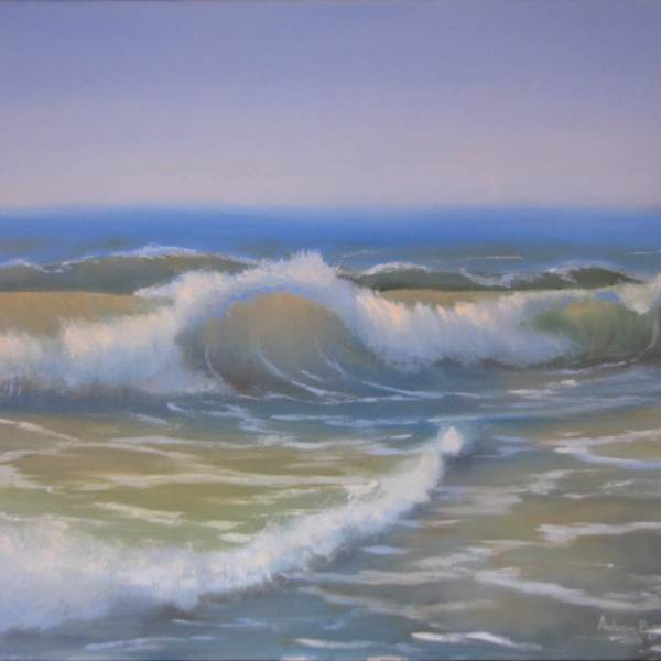 Картина прозрачная волна