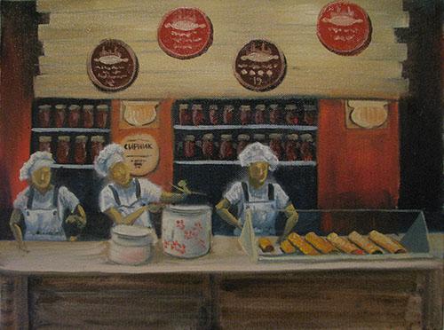 картина львівські пляцки