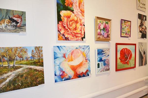 картины художников на выставке красота вокруг