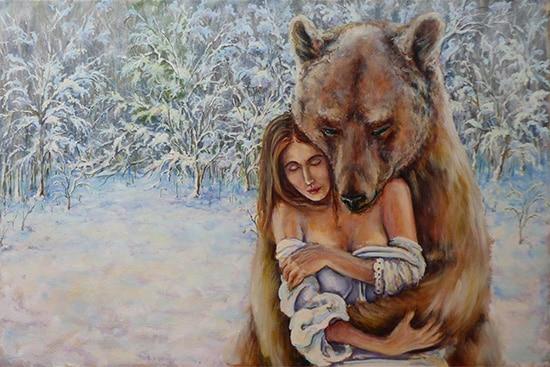 медведь поэтапно 14