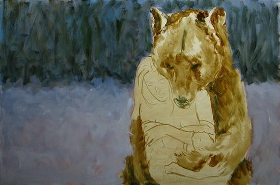 медведь поэтапно 2