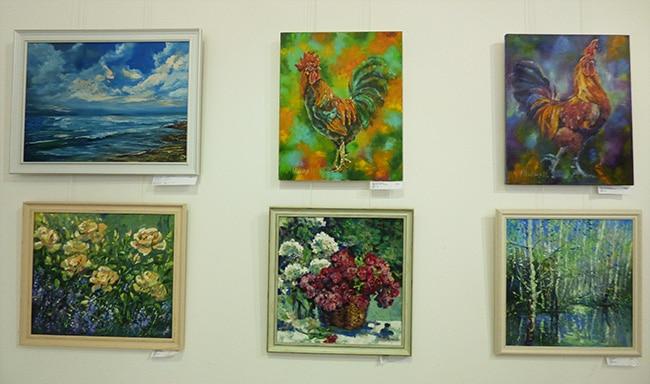 выставка-конкурс картин